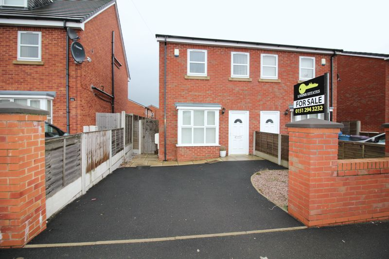 3 bedroom semi detached house for sale boundary lane for Furniture 66 long lane liverpool