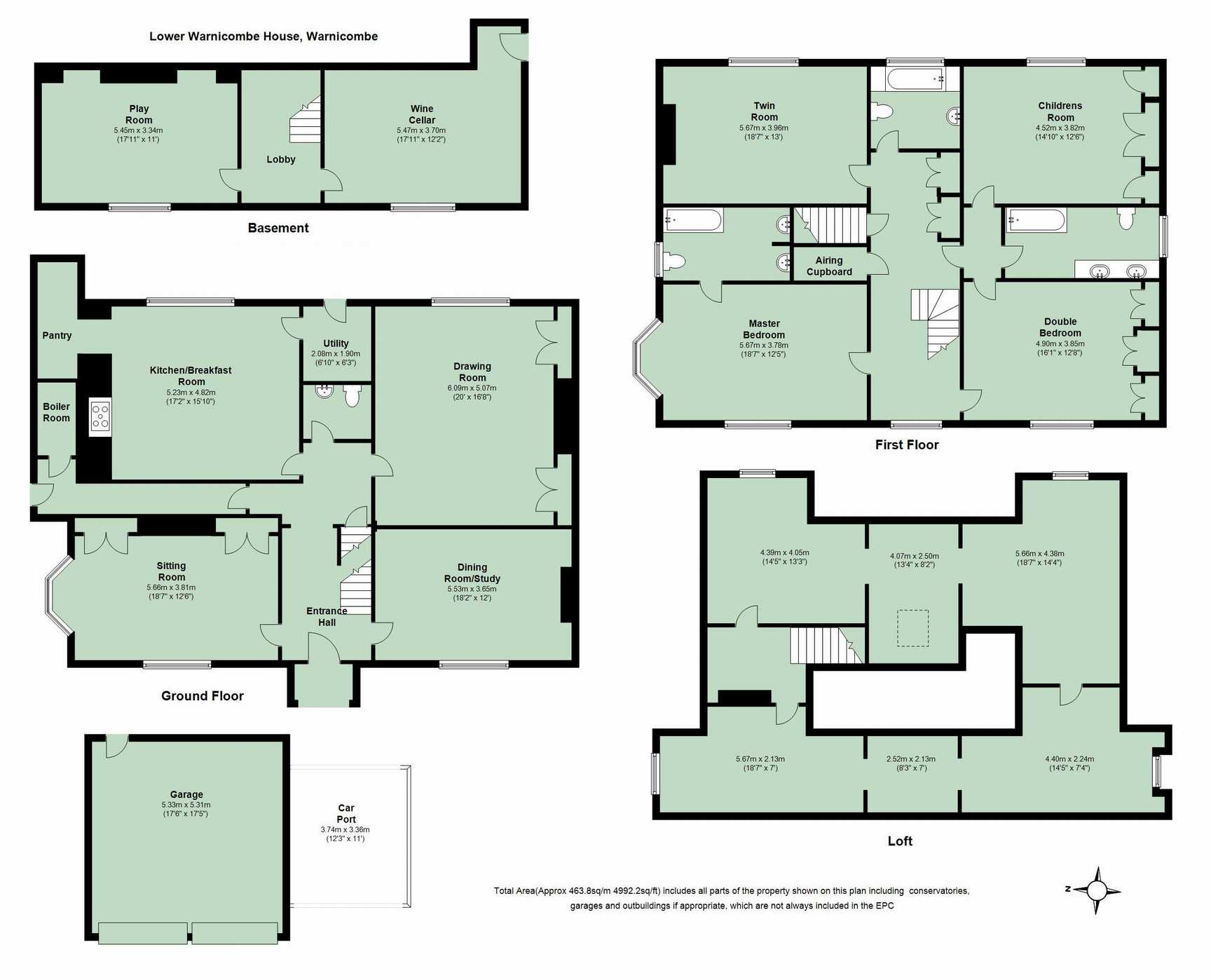 4 bedroom semi detached house for sale warnicombe lane for 16 brookers lane floor plans