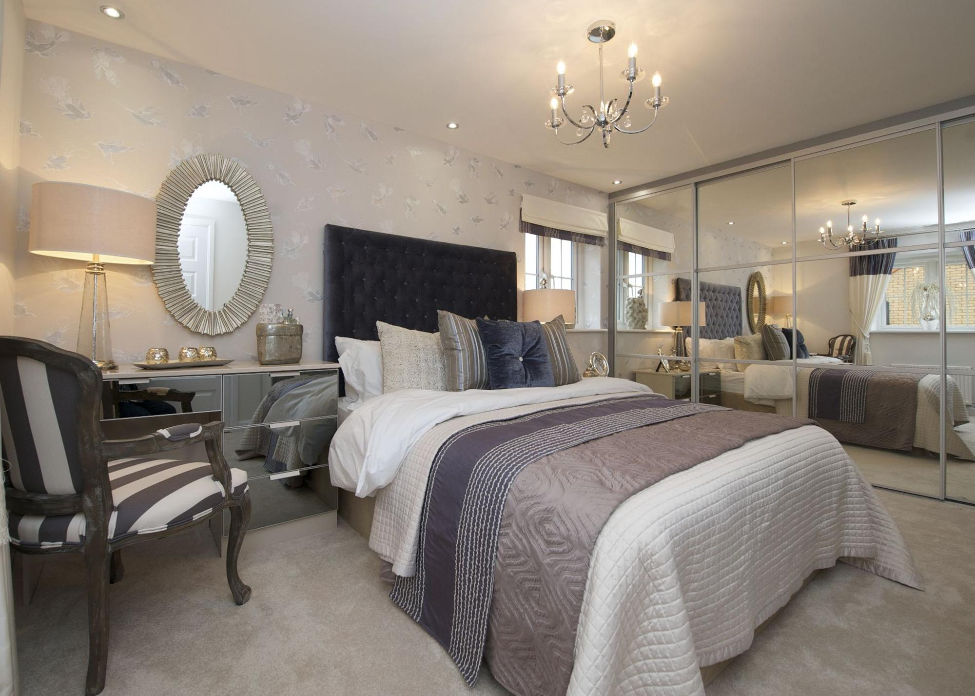 4 bedroom detached house for sale lincoln at morgan drive for New home bedroom designs