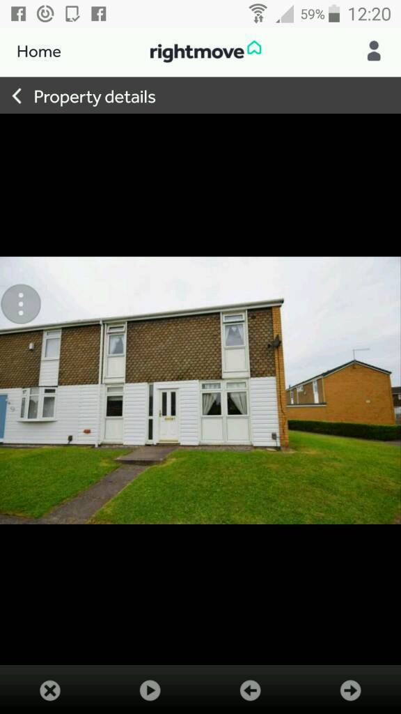 Terraced House For Sale Worthing Place Stoke On Trent