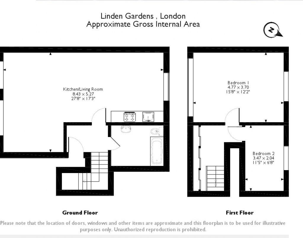 2 bedroom maisonette for sale third floor flat london for Maisonette plans
