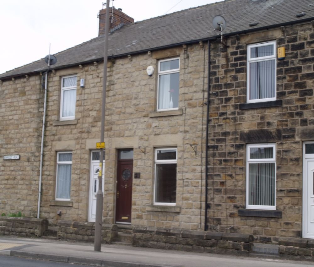 2 Bedroom Terraced House To Rent, Barnsley Road, Darfield