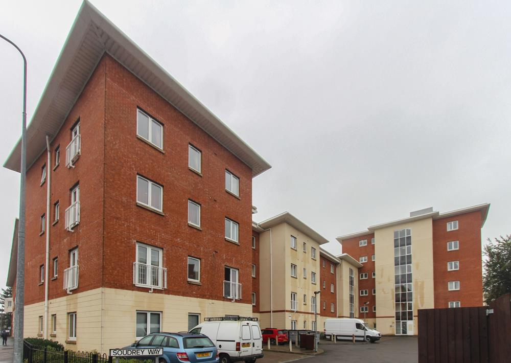 1 bedroom flat to rent, Soudrey Way, Cardiff CF, Butetown ...