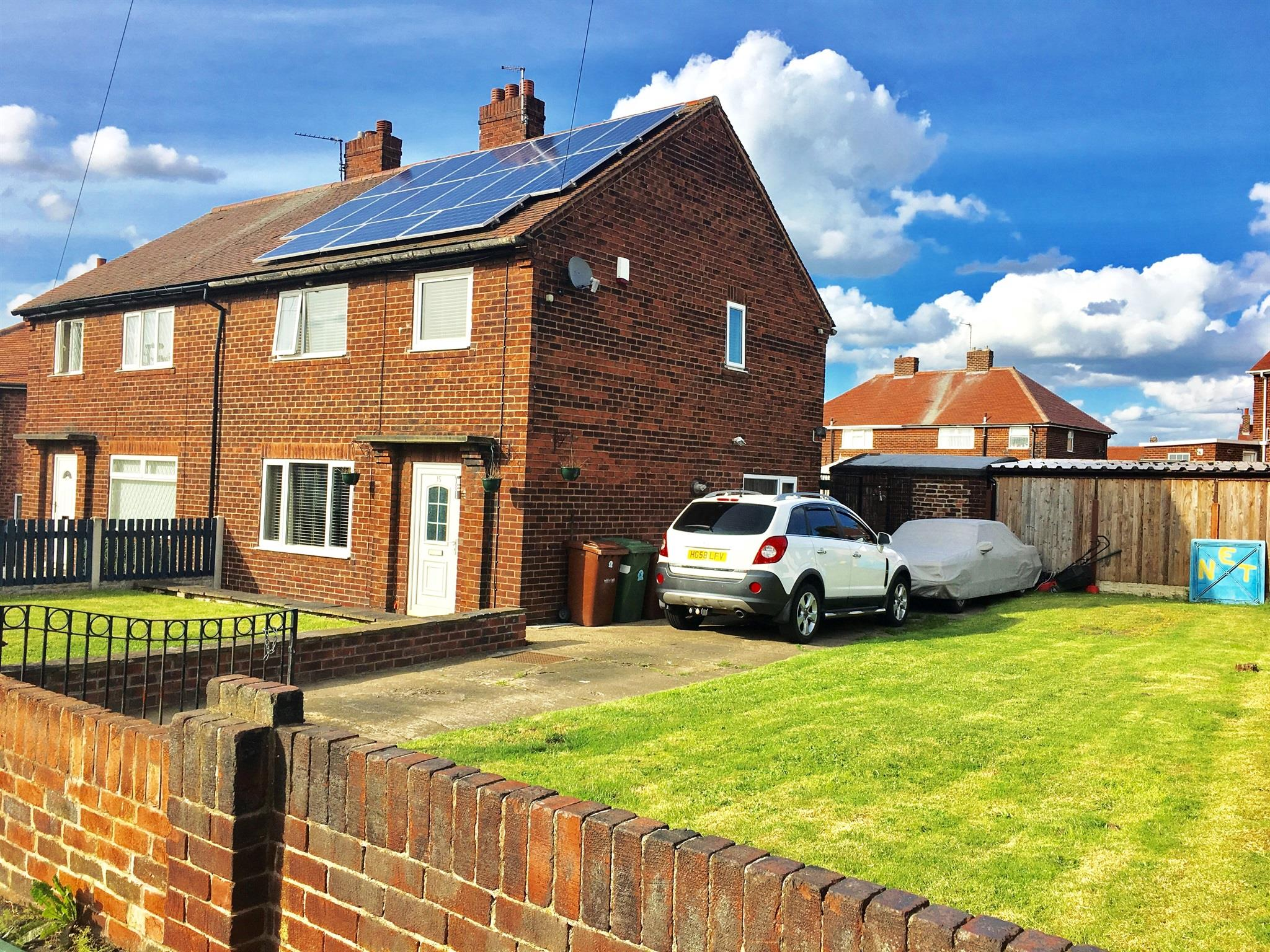 3 bedroom semi detached house for sale lowmoor crescent for Wakefield house