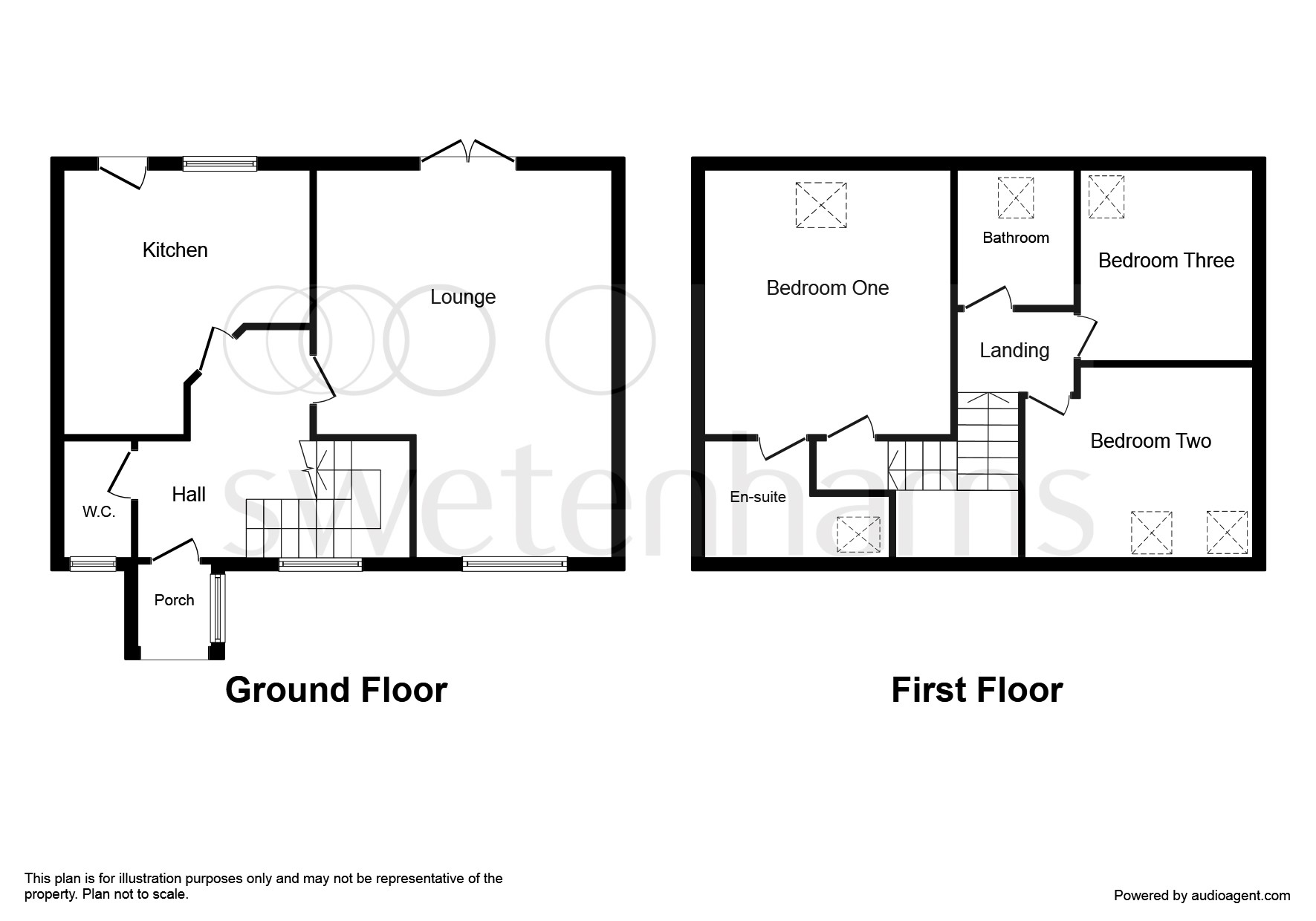 3 bedroom barn conversion for sale stoke hall lane for Barn conversion floor plans
