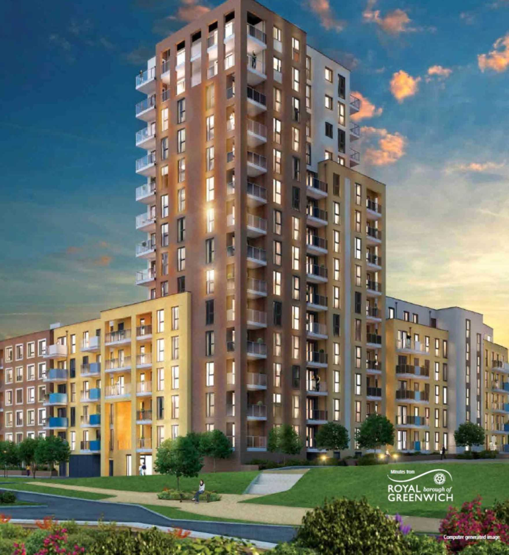 1 bedroom apartment for sale Poppyfield House Copperwood Place
