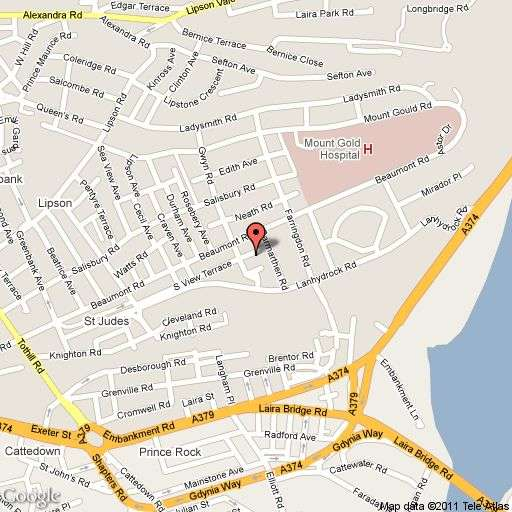2 bedroom flat to rent south view terrace plymouth pl4 9dj for Terrace view map