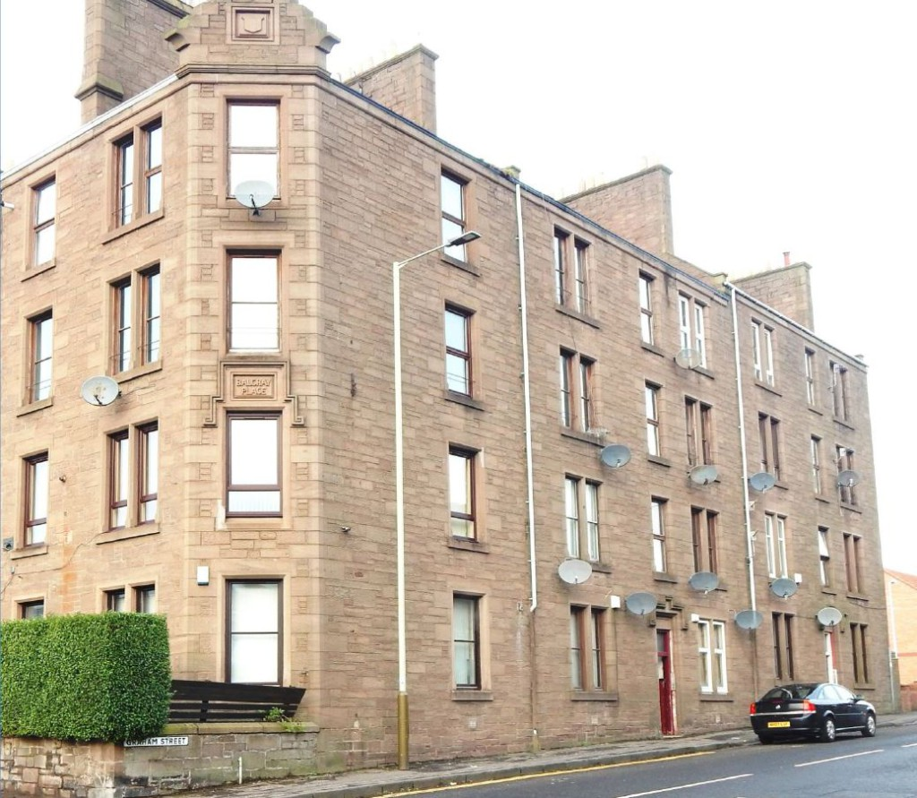 1 Bedroom Flat To Rent, Graham Street, Dundee, DD4 9AD