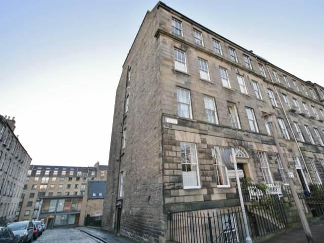 Edinburgh The Gayfield Square house