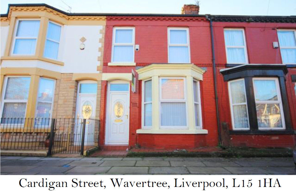 4 Bedroom House To Rent Cardigan Street Liverpool L15 1ha