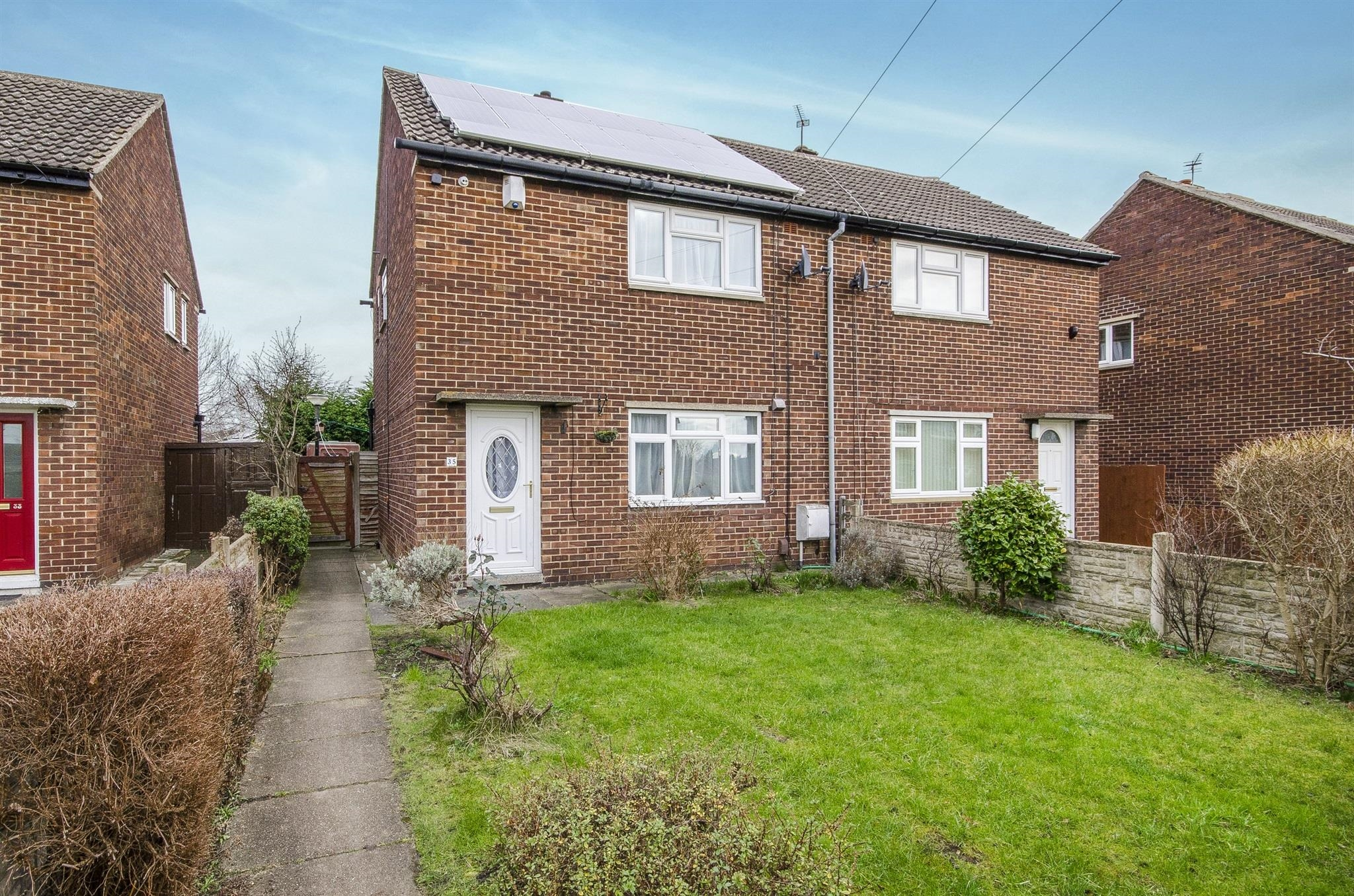 2 bedroom semi detached house for sale starbeck road for Wakefield house