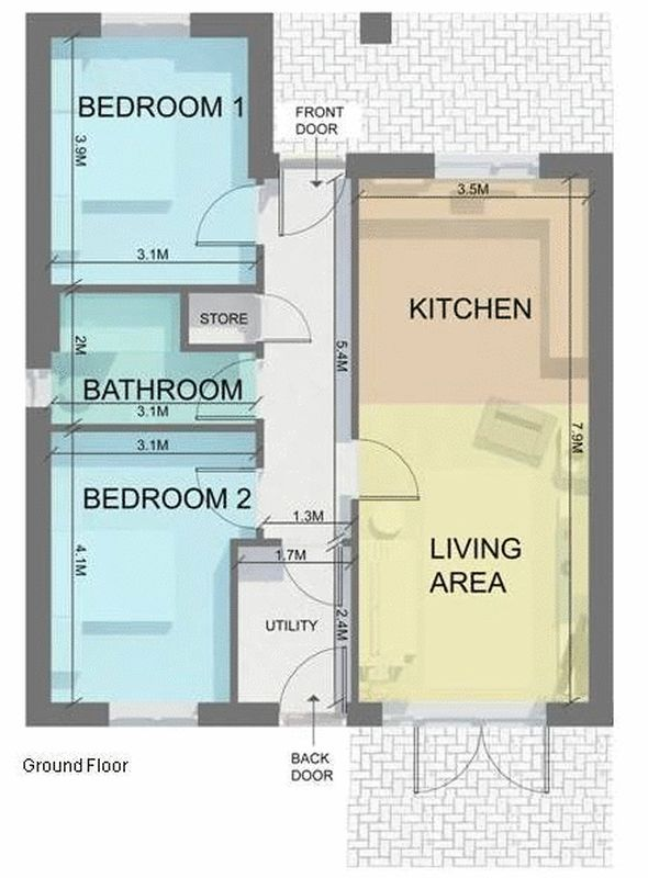2 bedroom detached bungalow for sale the nurseries alsager road audley stoke on trent st7 Bathroom design and installation stoke on trent