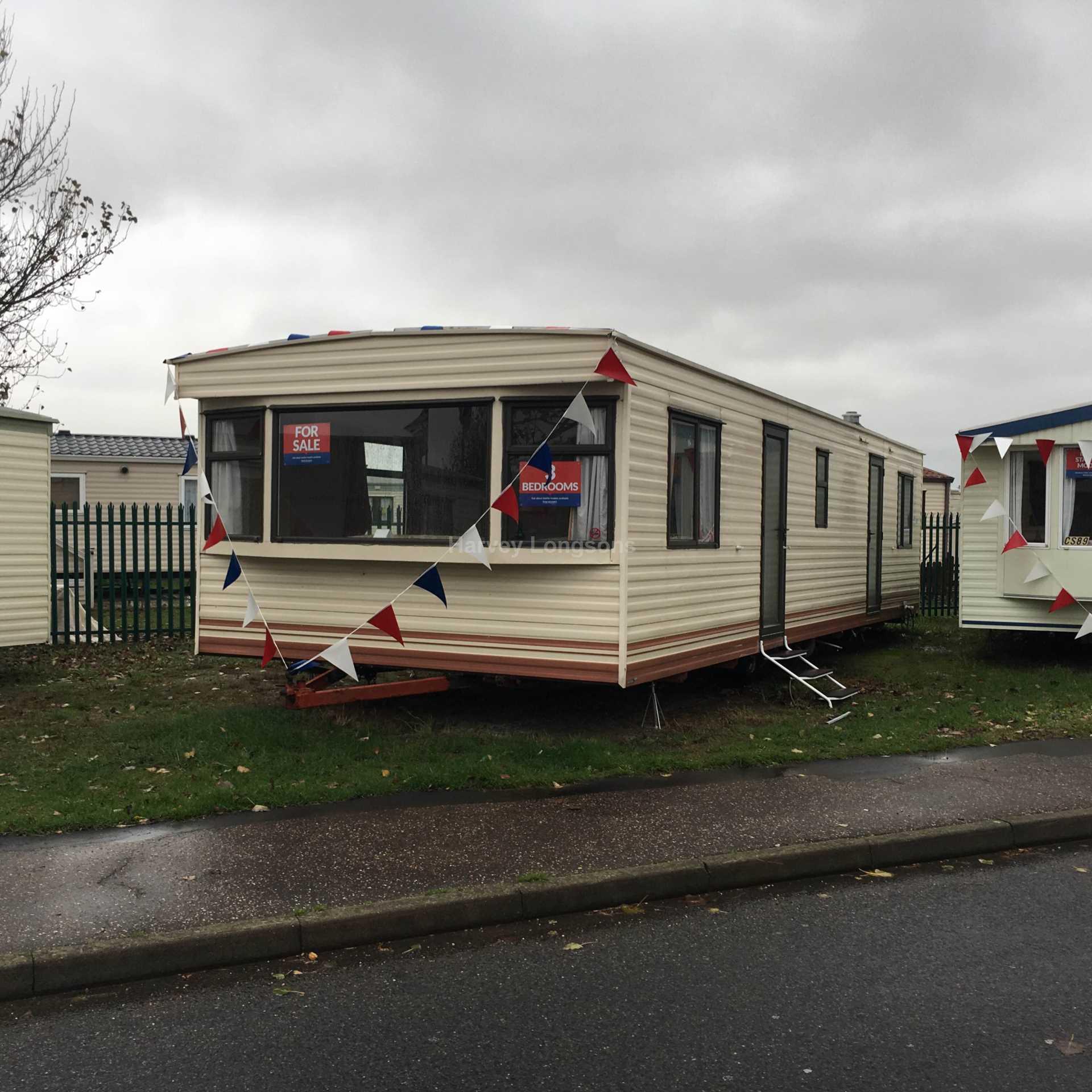 2 Bedroom Caravan For Sale, Seawick Holiday Park, Beach