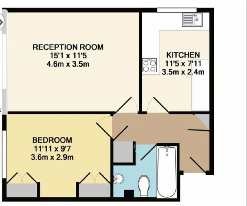 One Bedroom Flat To Rent Zone