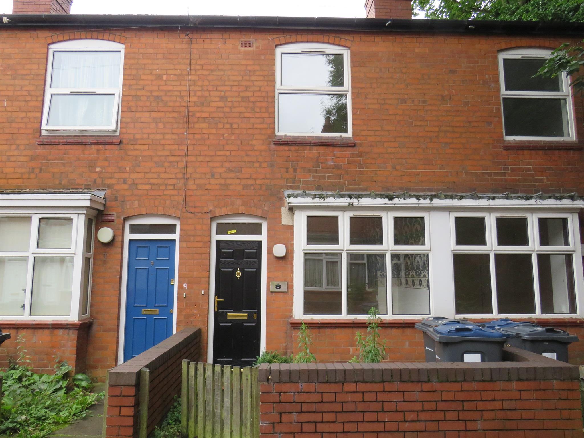 2 Bedroom Terraced House For Sale Runcorn Road Birmingham B12 8qt