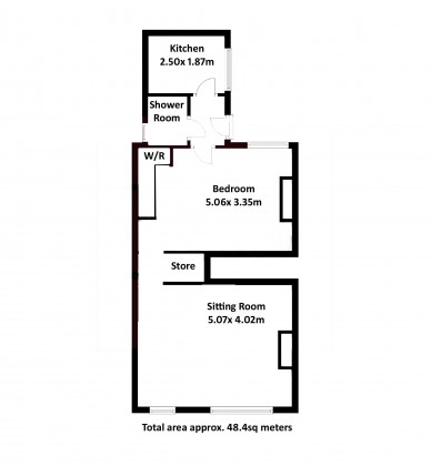 1 bedroom flat for sale the mews edward street stone for 15 bruyeres mews floor plans