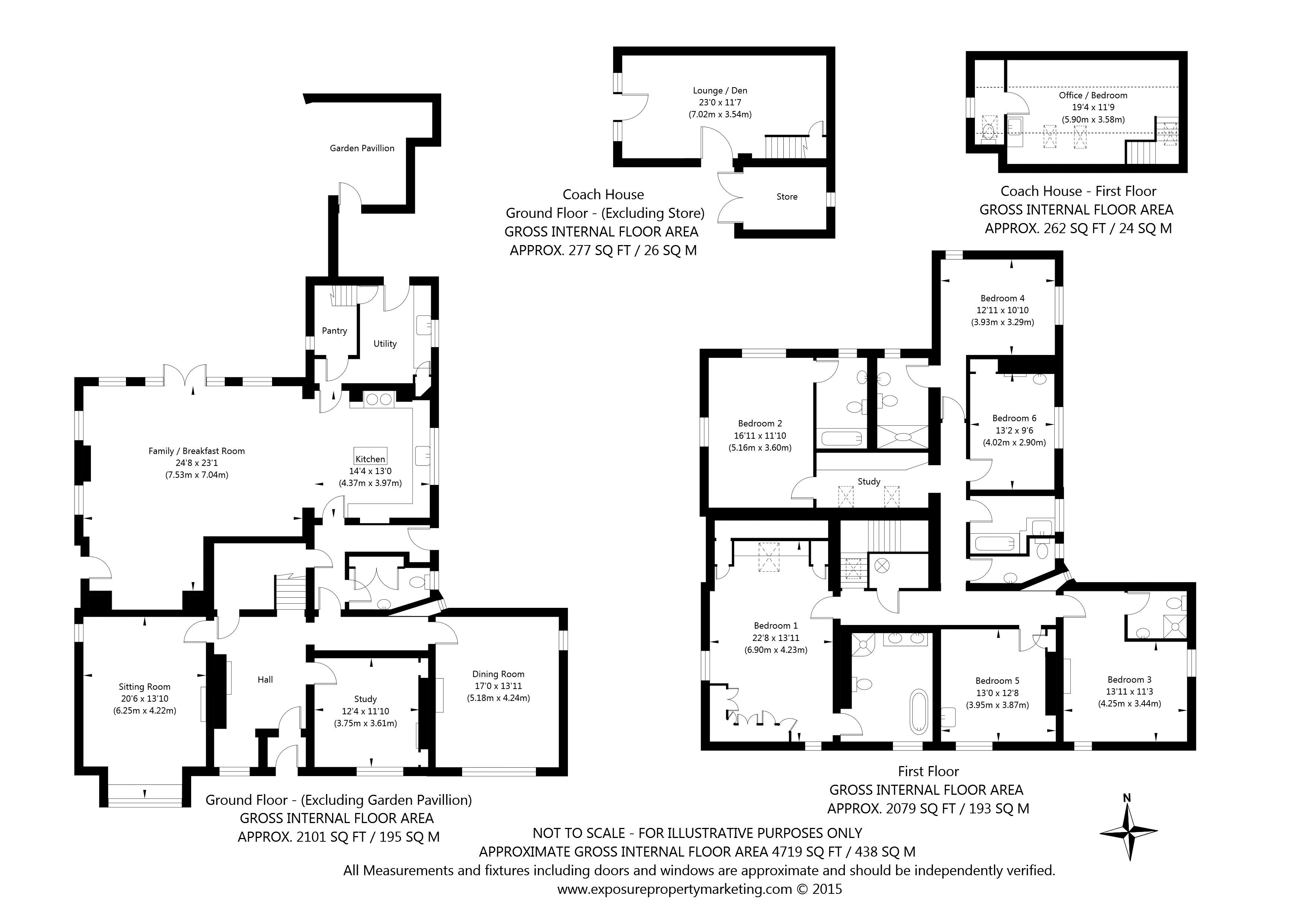 6 bedroom detached house for sale the old vicarage main for Main street homes floor plans