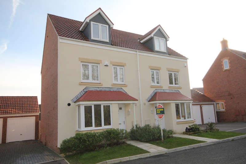 4 bedroom semi detached house for sale green crescent for Greens dining room zetland road bristol
