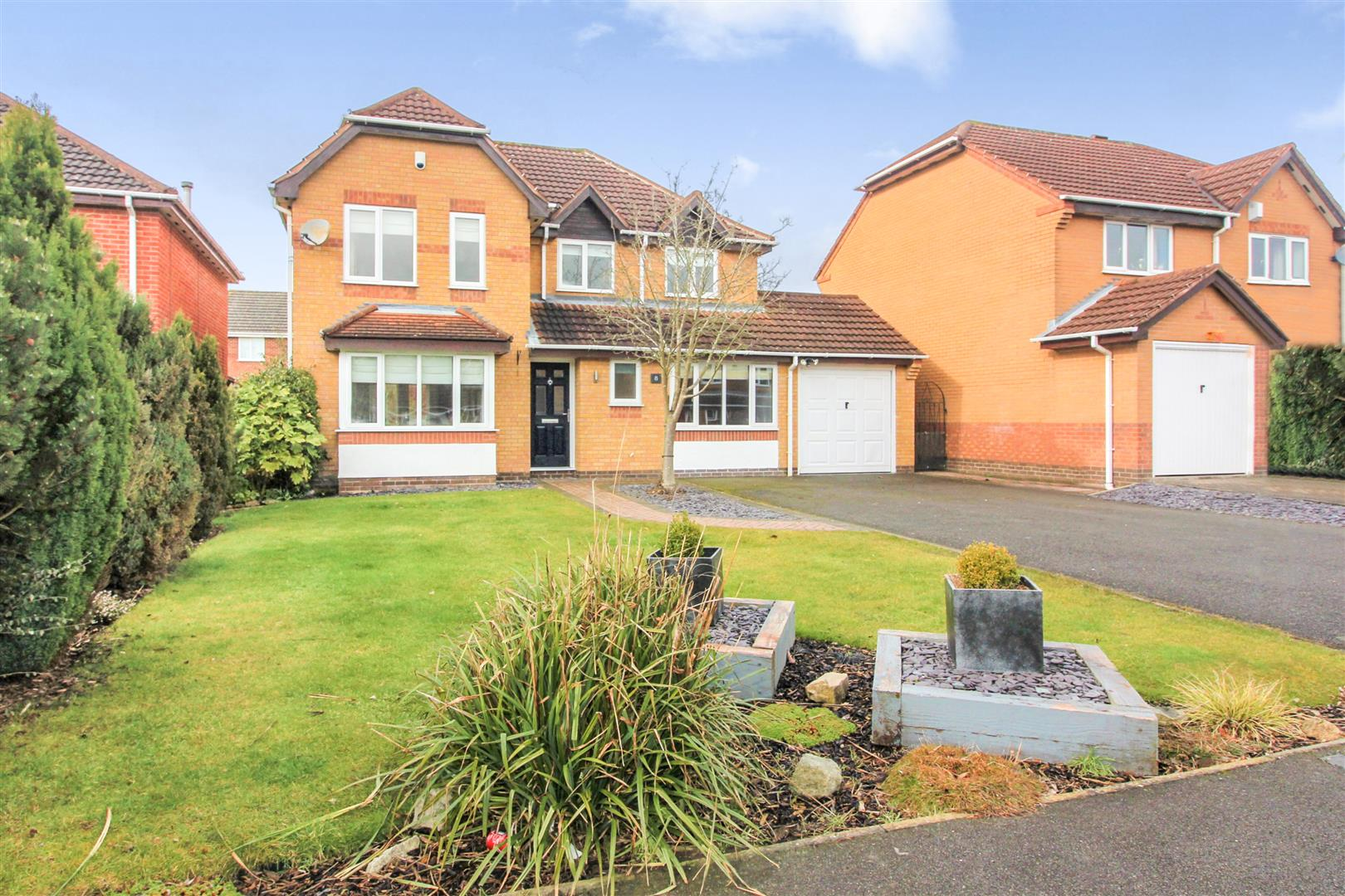 4 bedroom detached house for sale ulleswater crescent for Ashby house