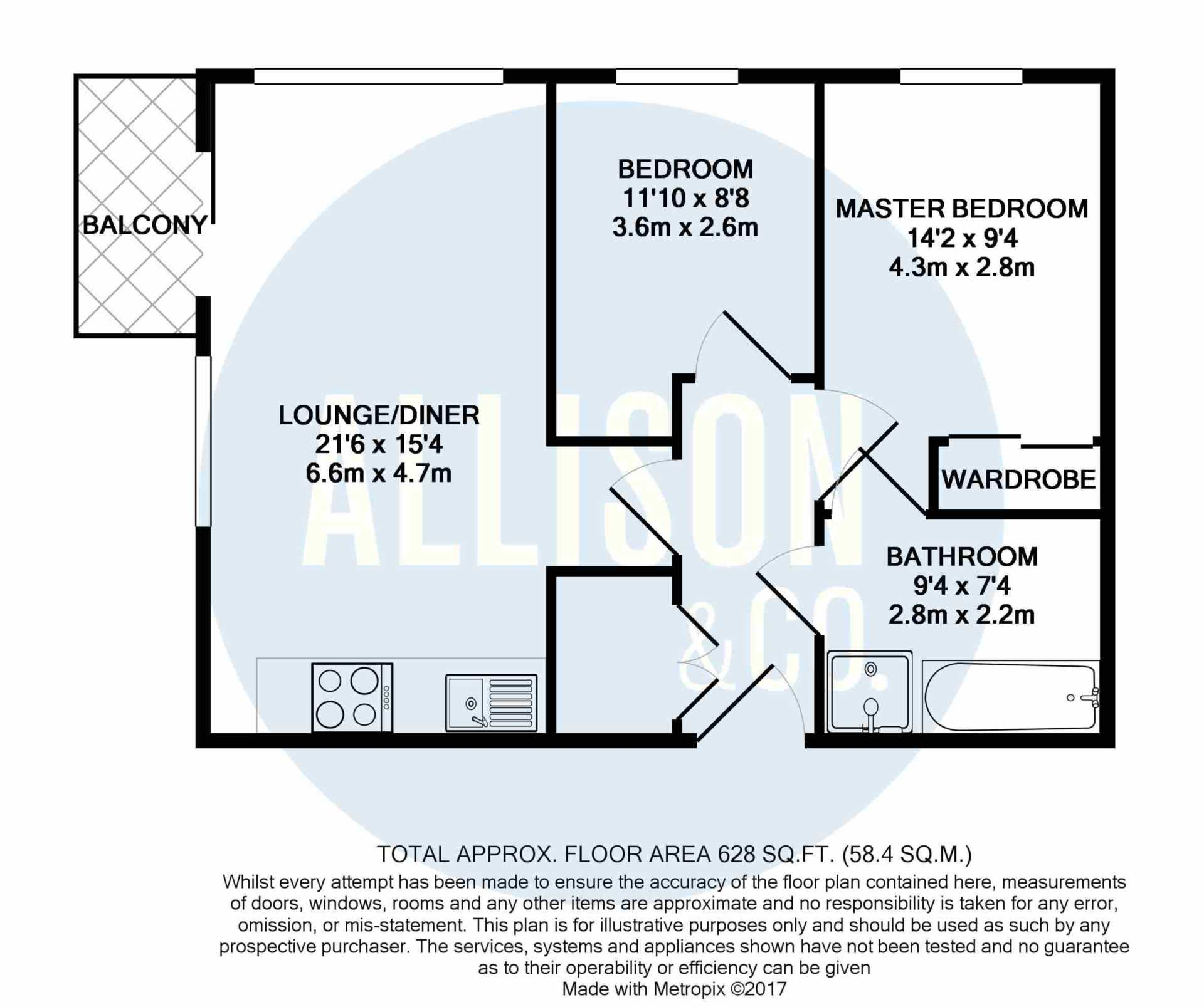2 bedroom apartment for sale stillwater drive manchester for Etihad apartment plans