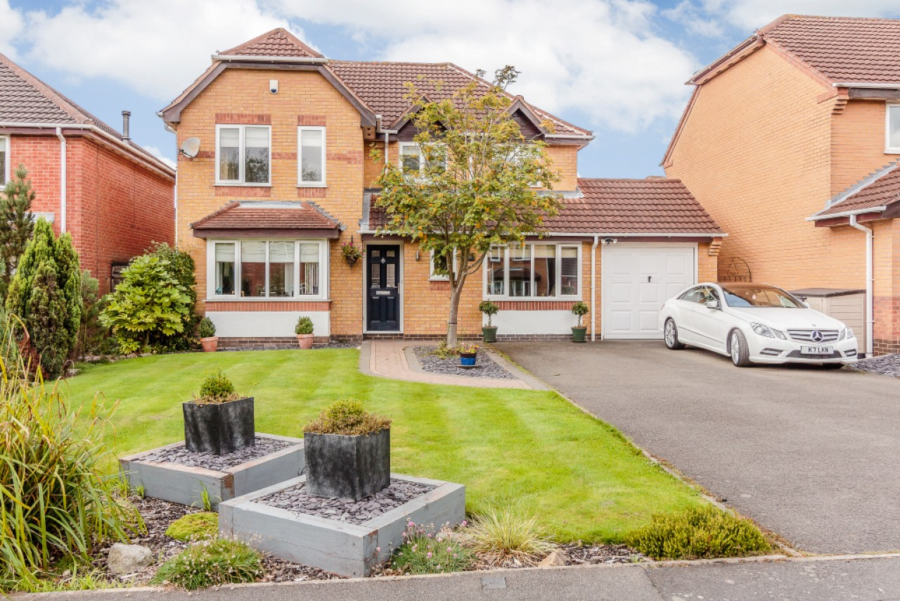 4 bedroom detached house for sale ulleswater crescent for Ashby homes