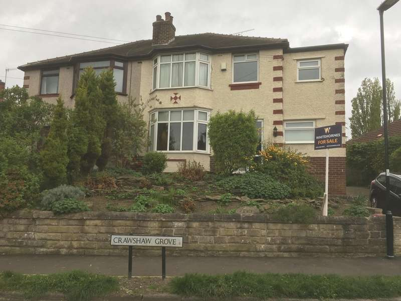 3 bedroom semi-detached house for sale, Crawshaw Grove ...