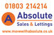 Absolute Sales and Lettings Ltd