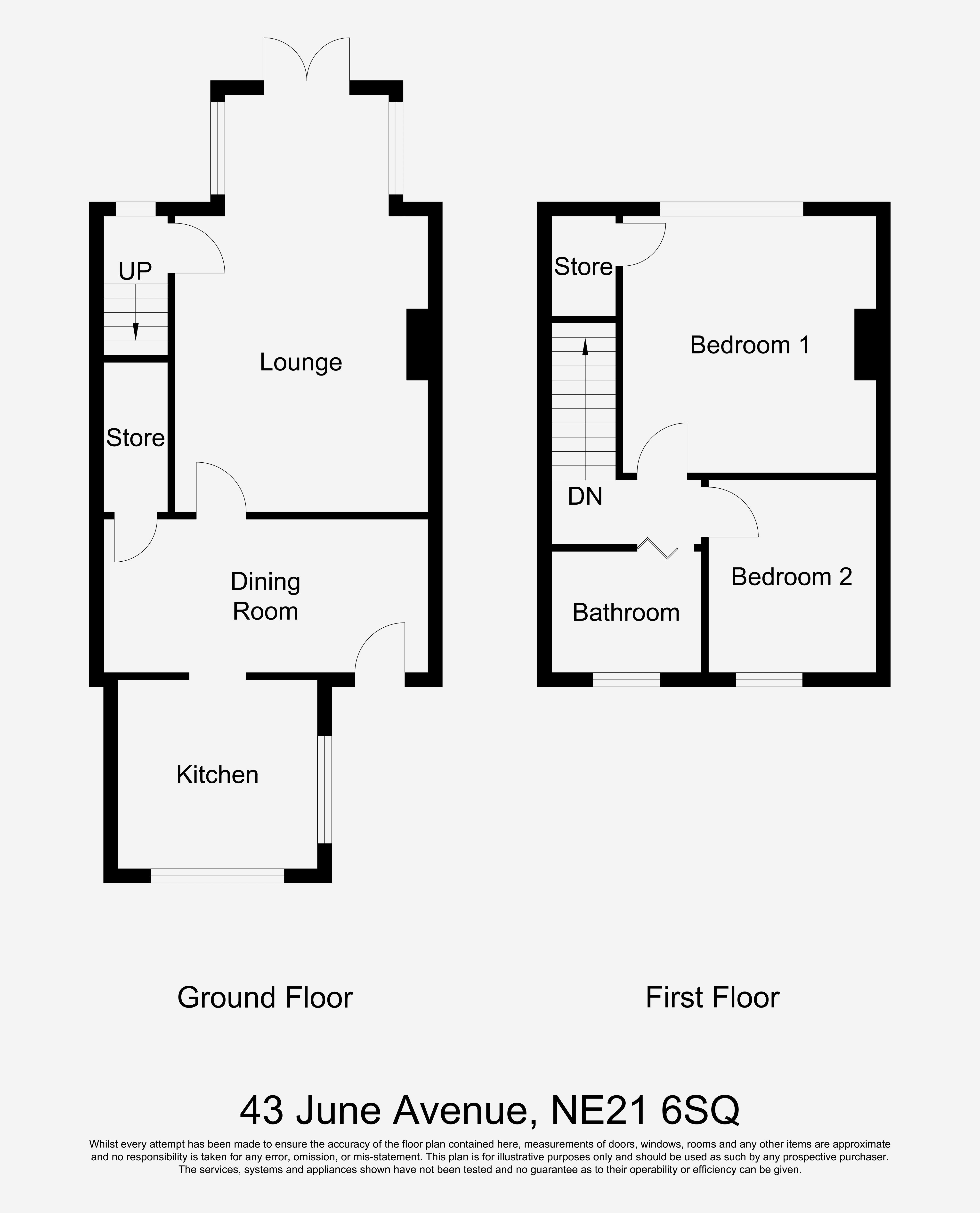 2 Bedroom House For Sale, June Avenue, Winlaton Mill, Blaydon-On-Tyne NE, Blaydon-on-tyne, NE21 6SQ