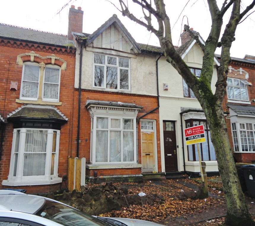 3 Bedroom Terraced House For Sale, Frances Road, Erdington