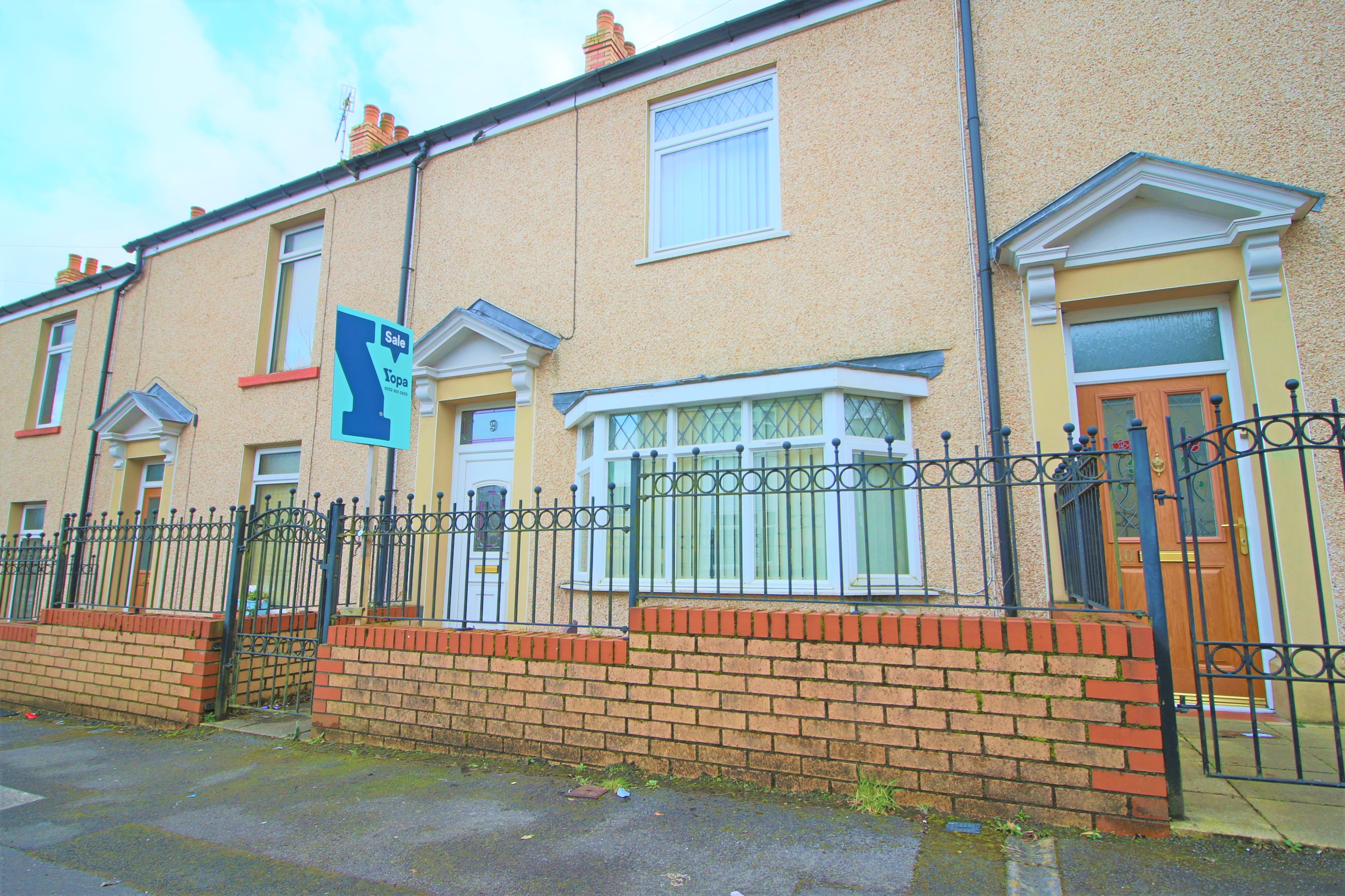 2 bedroom terraced house for sale, Field Street, Landore, Swansea SA ...