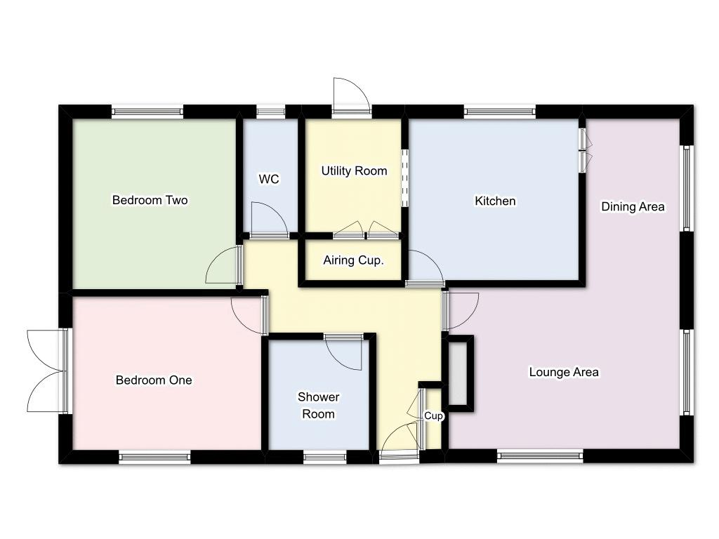 2 bedroom house for sale northfield park upper cornaway for 16 brookers lane floor plans