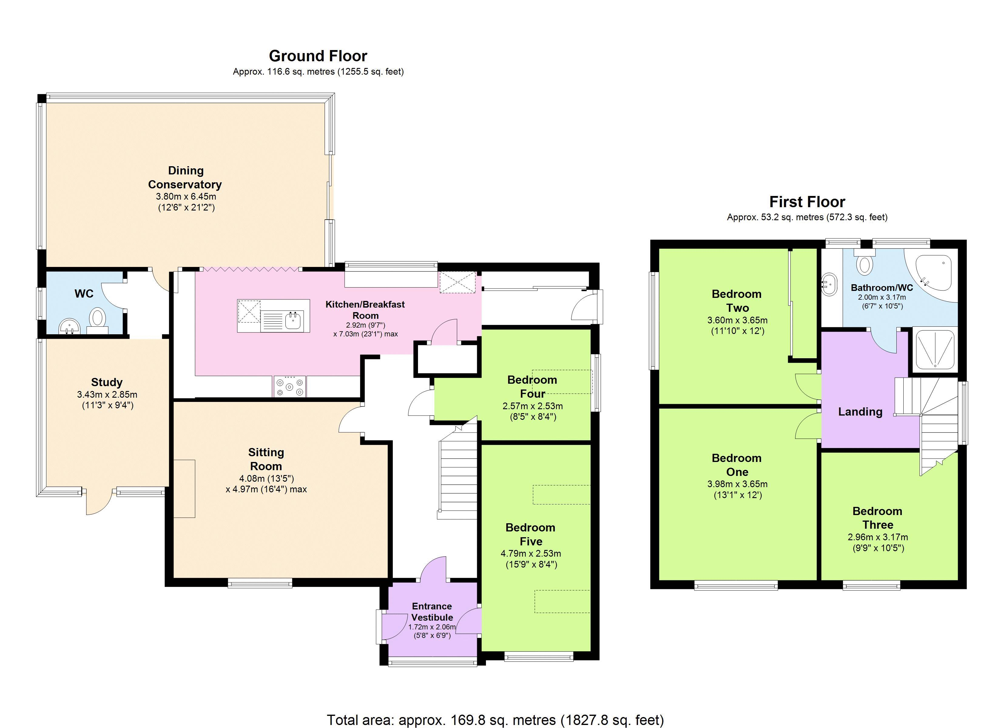 5 Bedroom Detached House For Sale Lawn Close Torquay