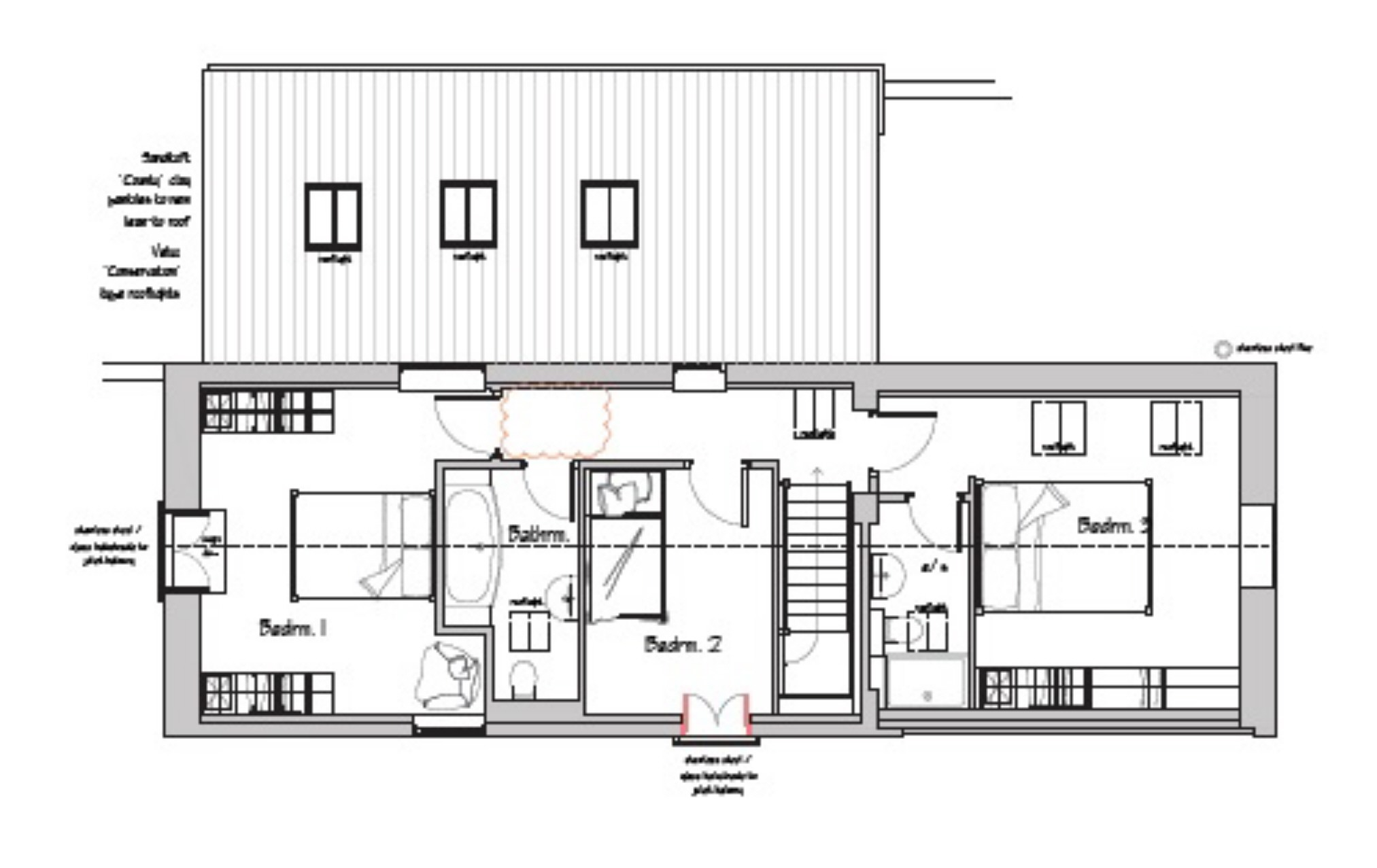 3 bedroom barn conversion for sale low road burwell for Barn conversion floor plans