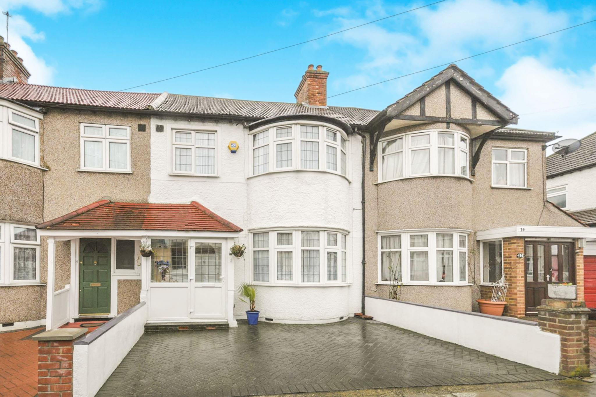 3 bedroom terraced house for sale belmont avenue new for New terrace house