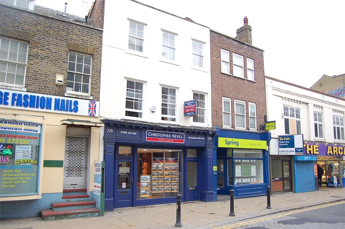 1 bedroom house to rent, High Street, Uxbridge, Middlesex