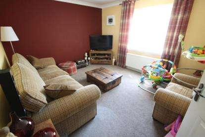 3 bedroom semi detached house for sale balvenie drive for Living room kilmarnock