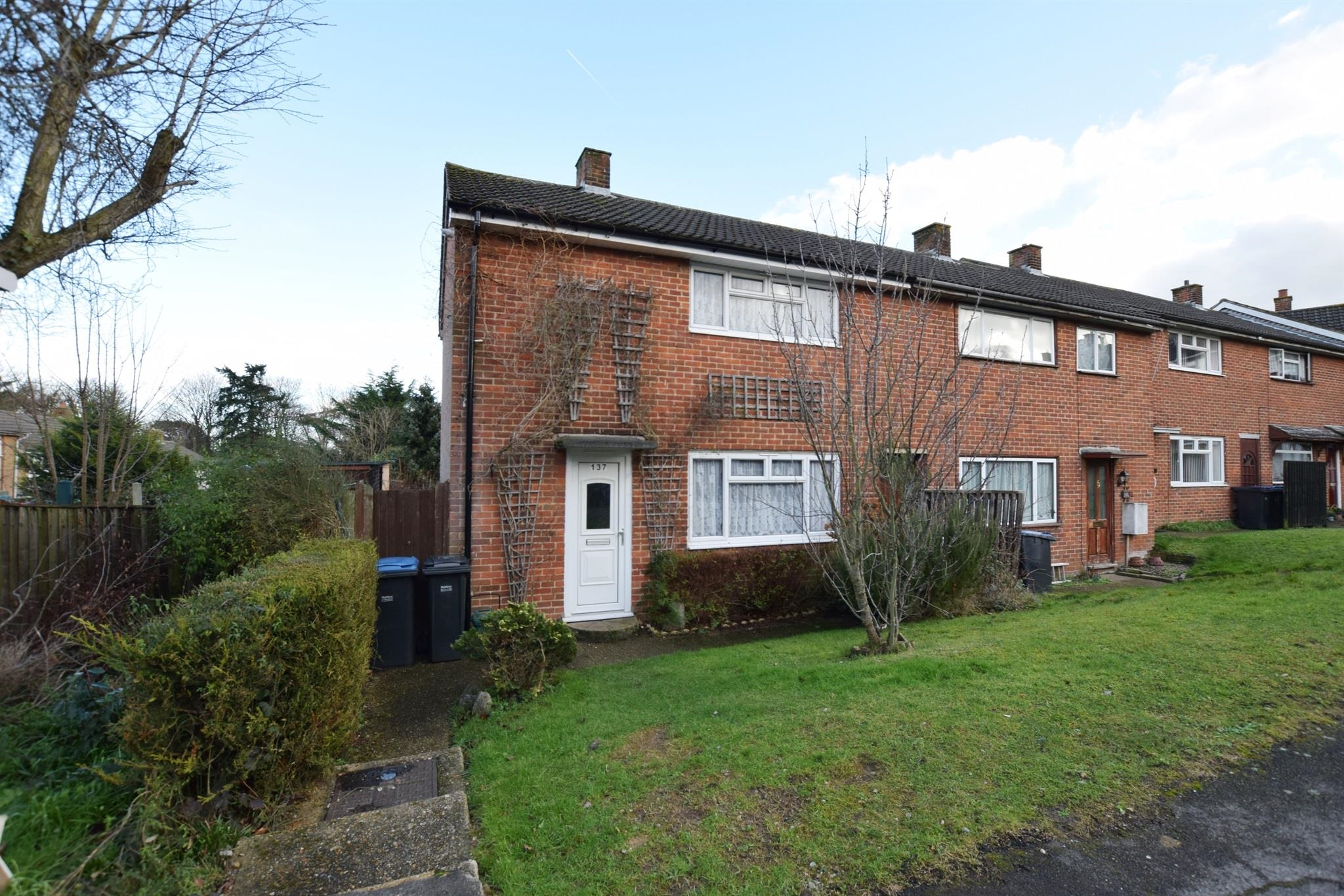 2 bedroom end of terrace house for sale rectory wood for The terrace land and house